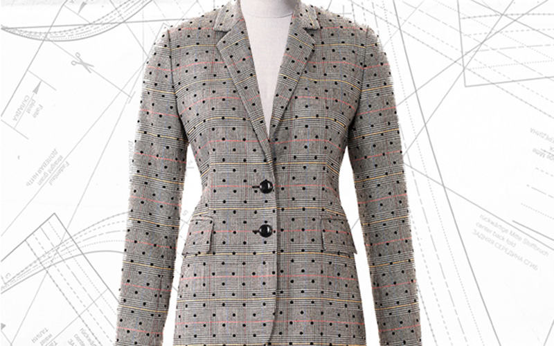 Sewing Lesson: Fitted Blazer #101 10/2018
