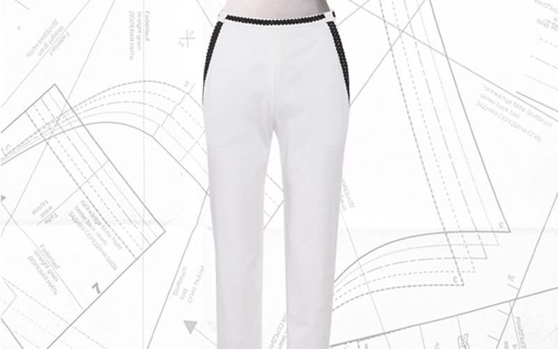 Sewing Lesson: #109B Slim Fit Trousers 04/2019