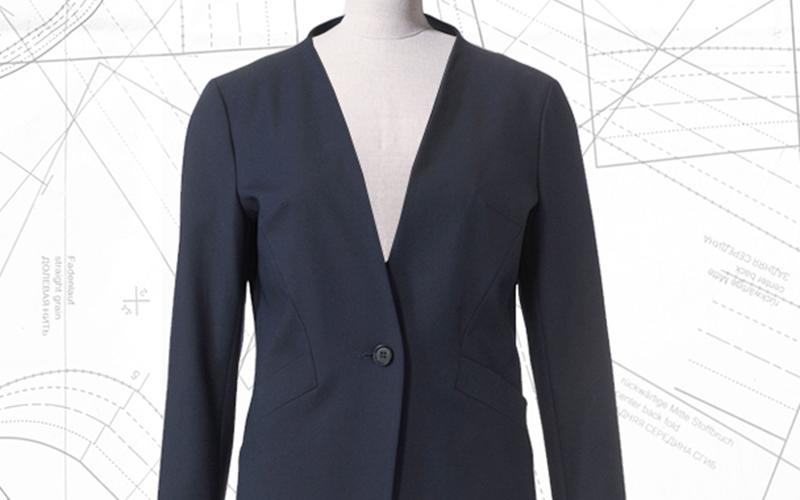 Sewing lesson: #117 stretch blazer