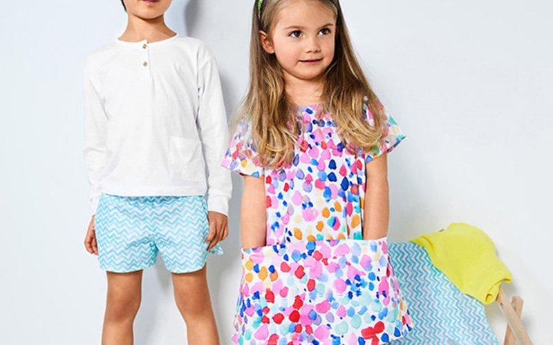 Lots of Color: 4 Summery Kid's Patterns
