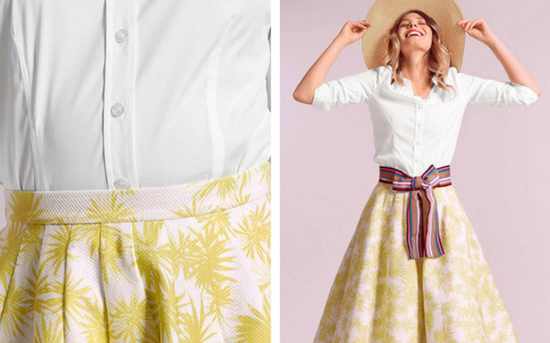 "Retro Restyle: ""New Look"" Circle Skirt"