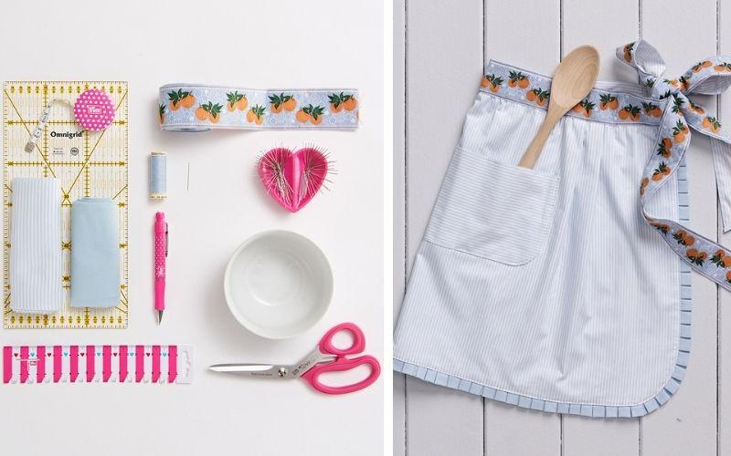 DIY - Ruffled apron