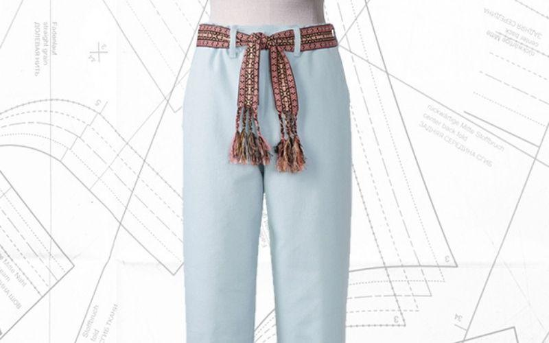 Sewing lesson: #102 Denim Trousers 05/2021
