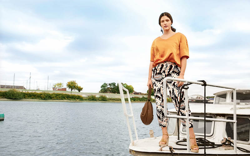 Focus: Burda Style Plus Collection Issue 03/2021: Bon Voyage
