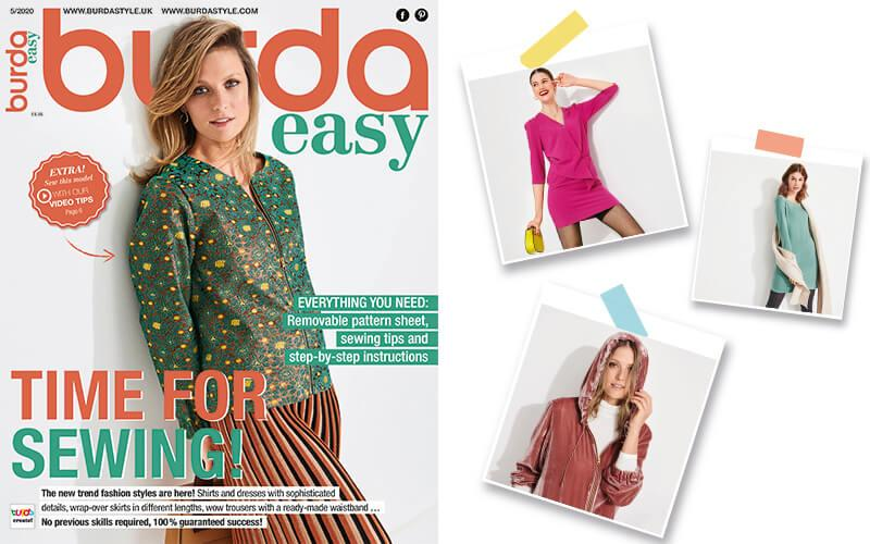 Burda Easy  #5 - 2020 Is Now in Shops!