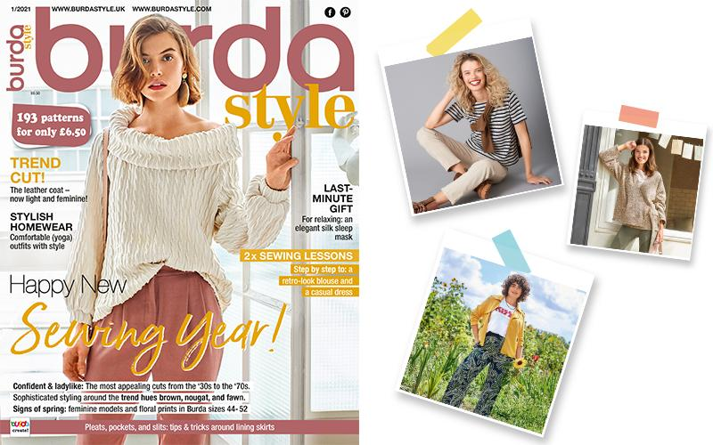 January 2021: The New Issue of Burda Style