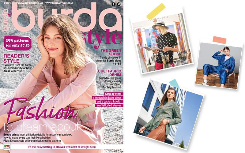 February 2021: The New Issue of Burda Style