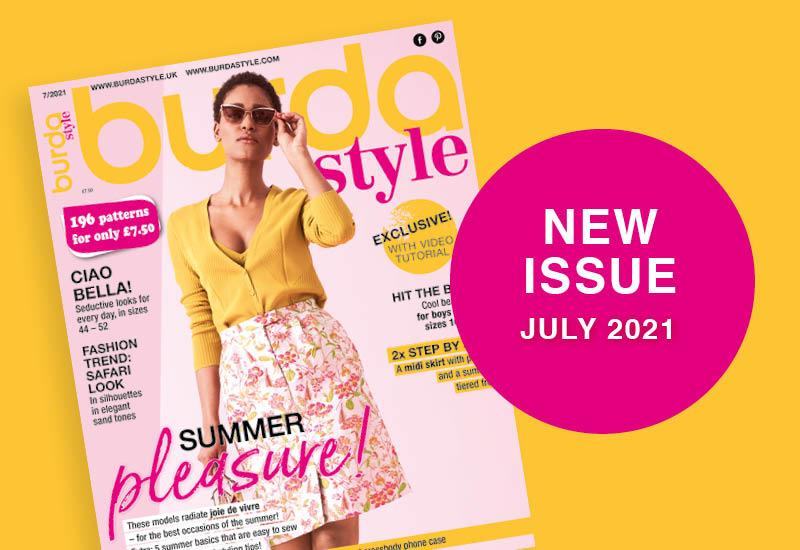 July 2021: The New Issue of Burda Style