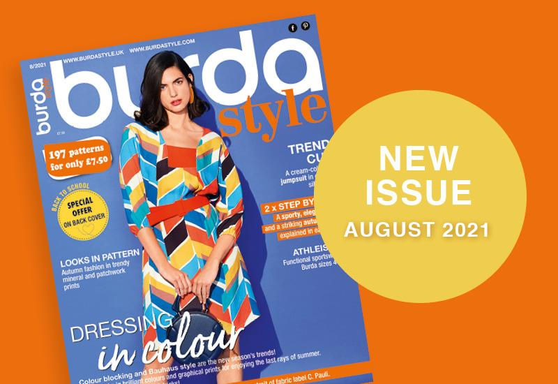 The New Issue of Burda Style August 2021 Is Out in Shops Now!