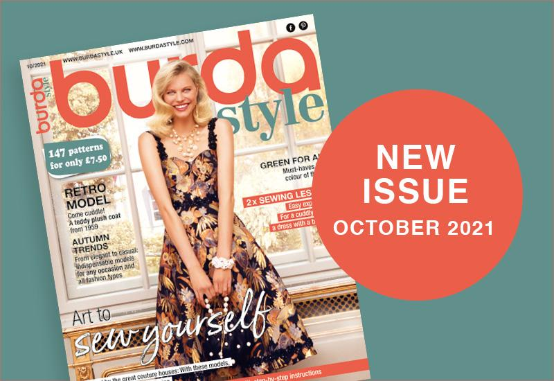 The New Issue of Burda Style October 2021 Is Out in Shops Now!