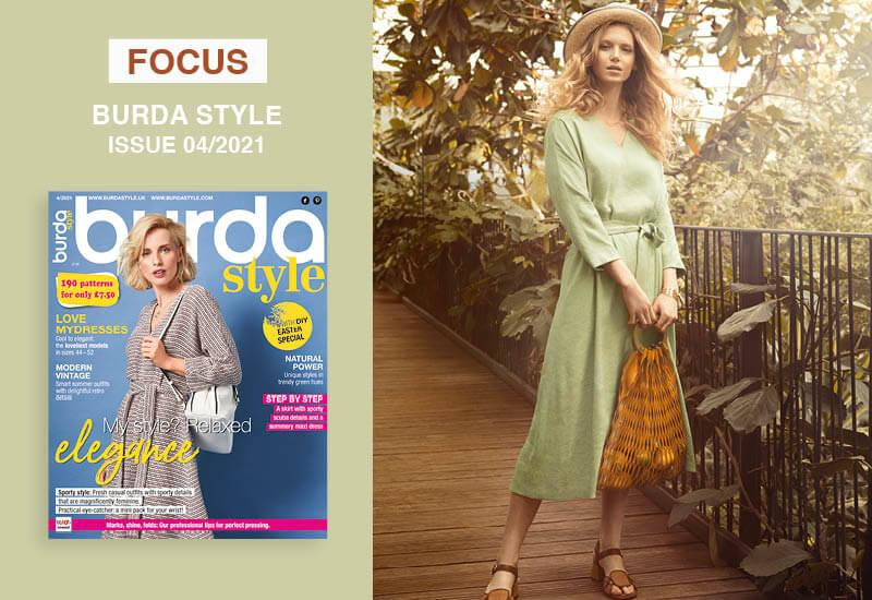 Focus: Burda Style Issue 04/2021: Natural Green