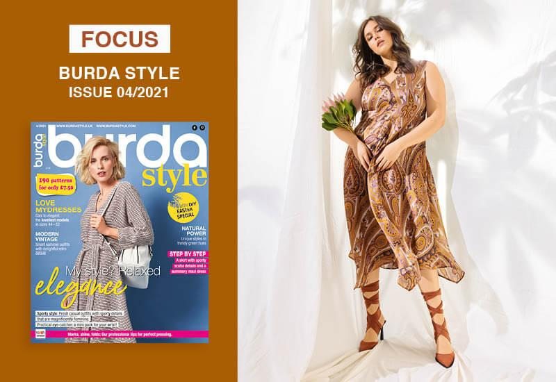 Focus: Burda Style Plus Collection Issue 04/2021: Favorite Pieces