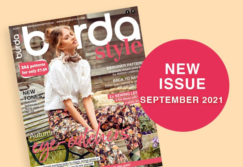 The New September 2021 Issue of Burda Style Is Out Now!