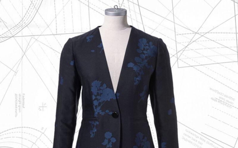 Sewing lesson: #113 Collarless blazer 12/2019