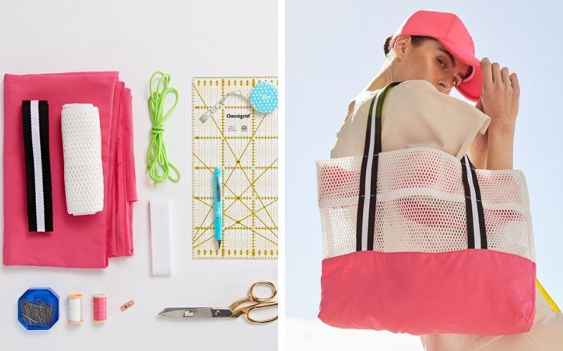 DIY: Neon Carryall