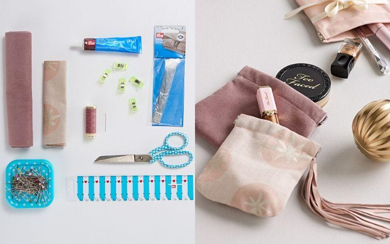 DIY gift pouches