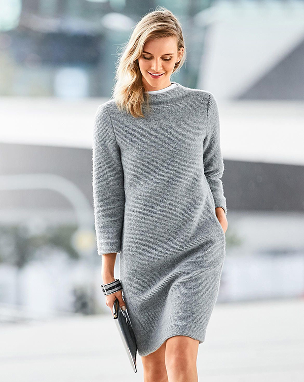 Stretch Shift Dress